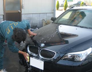 洗車(スポンジ掛け)