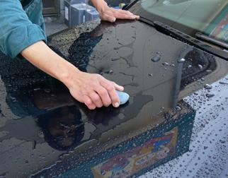 洗車(粘土使用)